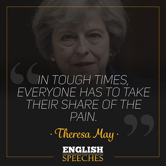 Theresa May Quote
