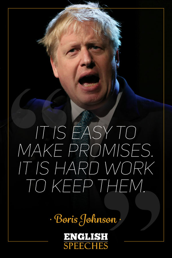 Boris Johnson Quote