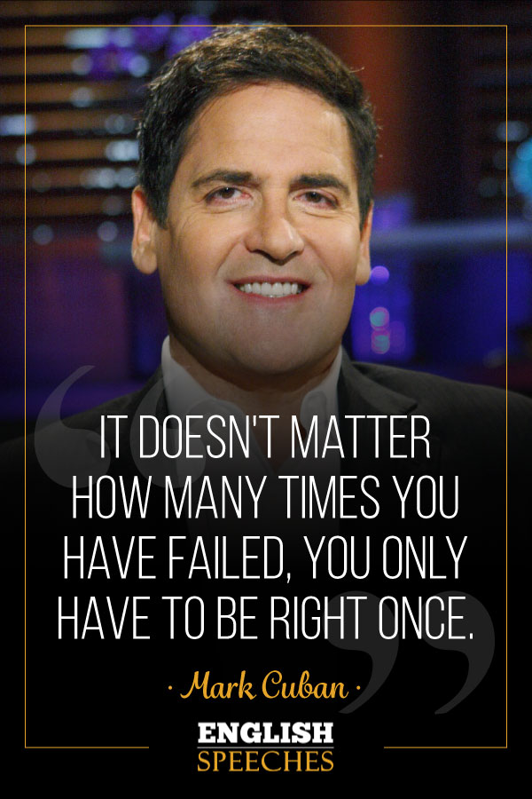 Mark Cuban Quote