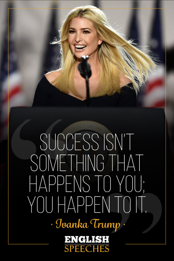 Ivanka Trump Quote